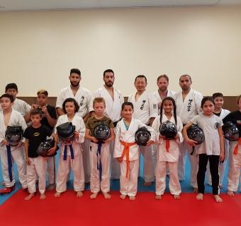 2ième Séminaire Renseikan avec Sensei Tsunemitsu Yoshida à Gennevilliers - juin 2018
