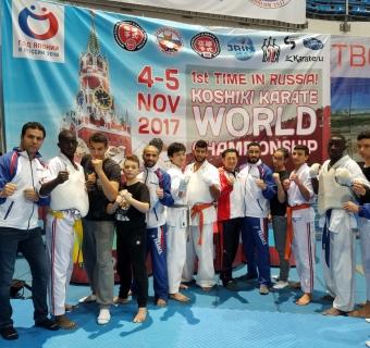 Championnat du monde Koshiki Karatédo à Moscou (Russie) -  3 au 6 Novembre 2018