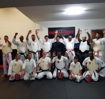Séminaire Koshiki karaté avec Shihan Masamitsu Kudaka à Lausanne (Suisse) - 22/10/2017