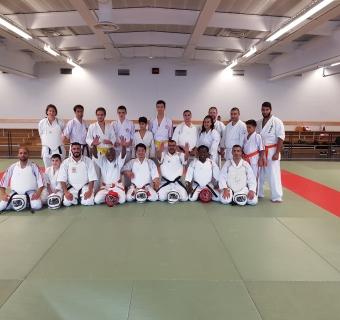 Séminaire Koshiki Karaté avec Shihan Masamitsu Kudaka à Gennevilliers - 21/10/2017