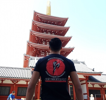 Stage et compétition au Japon - Avril 2018